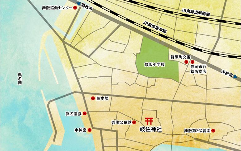 岐佐神社 地図